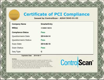 Smarter Entry PCI Certification